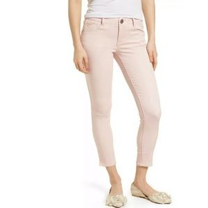Wit & Wisdom Ab-Solution Ankle Skinny Jeans Pink